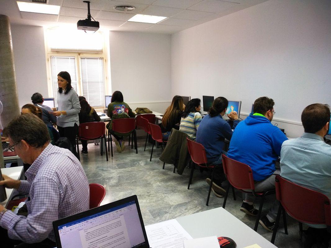 Curso de la ADLE de 'Informática Básica para el Empleo'