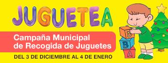 Juguetea. Campaña Municipal de Recogida de Juguetes 2018