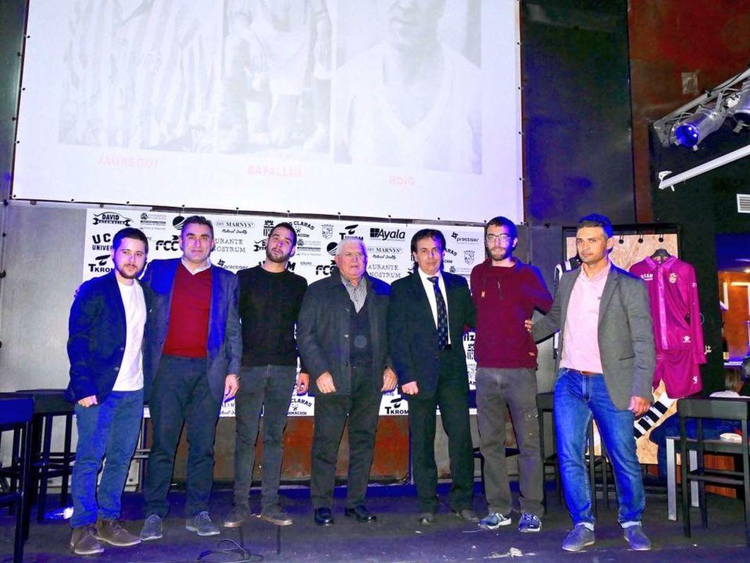 Presentación del himno del centenario del FC Cartagena