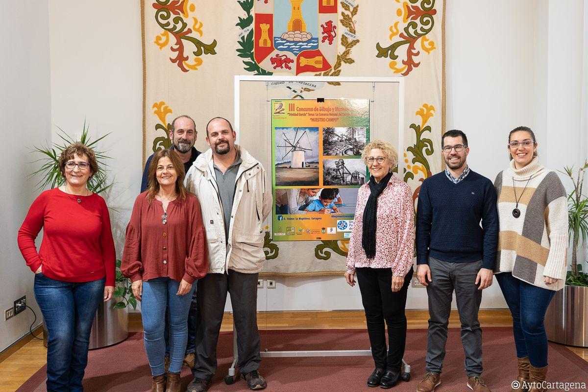 Presentación concurso de dibujo y murales infantil 'Trinidad García'