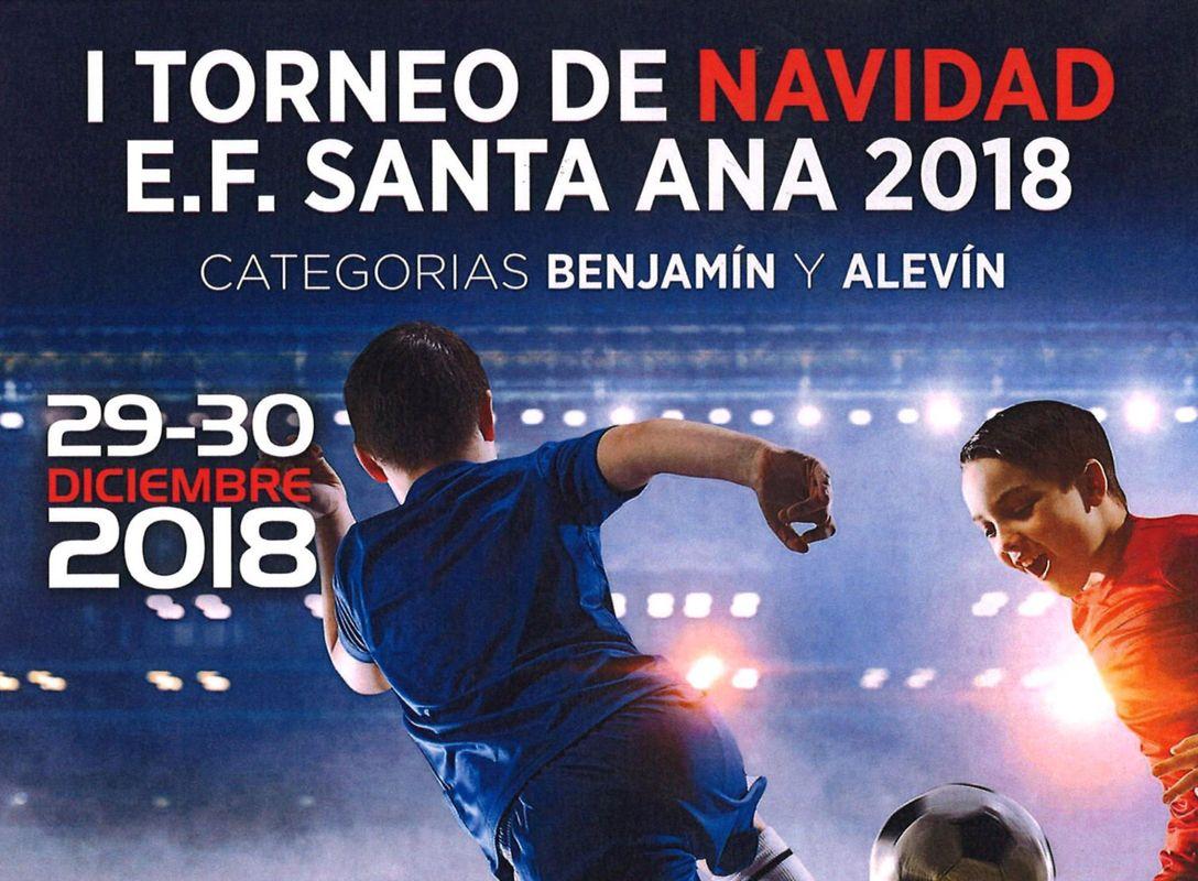 La Escuela de Fútbol Santa Ana-Cartagena celebrará el I Torneo de fútbol 8 de Navidad