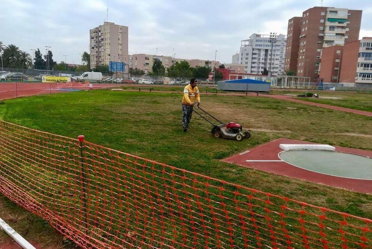 Mejoras pista de Atletismo de Cartagena