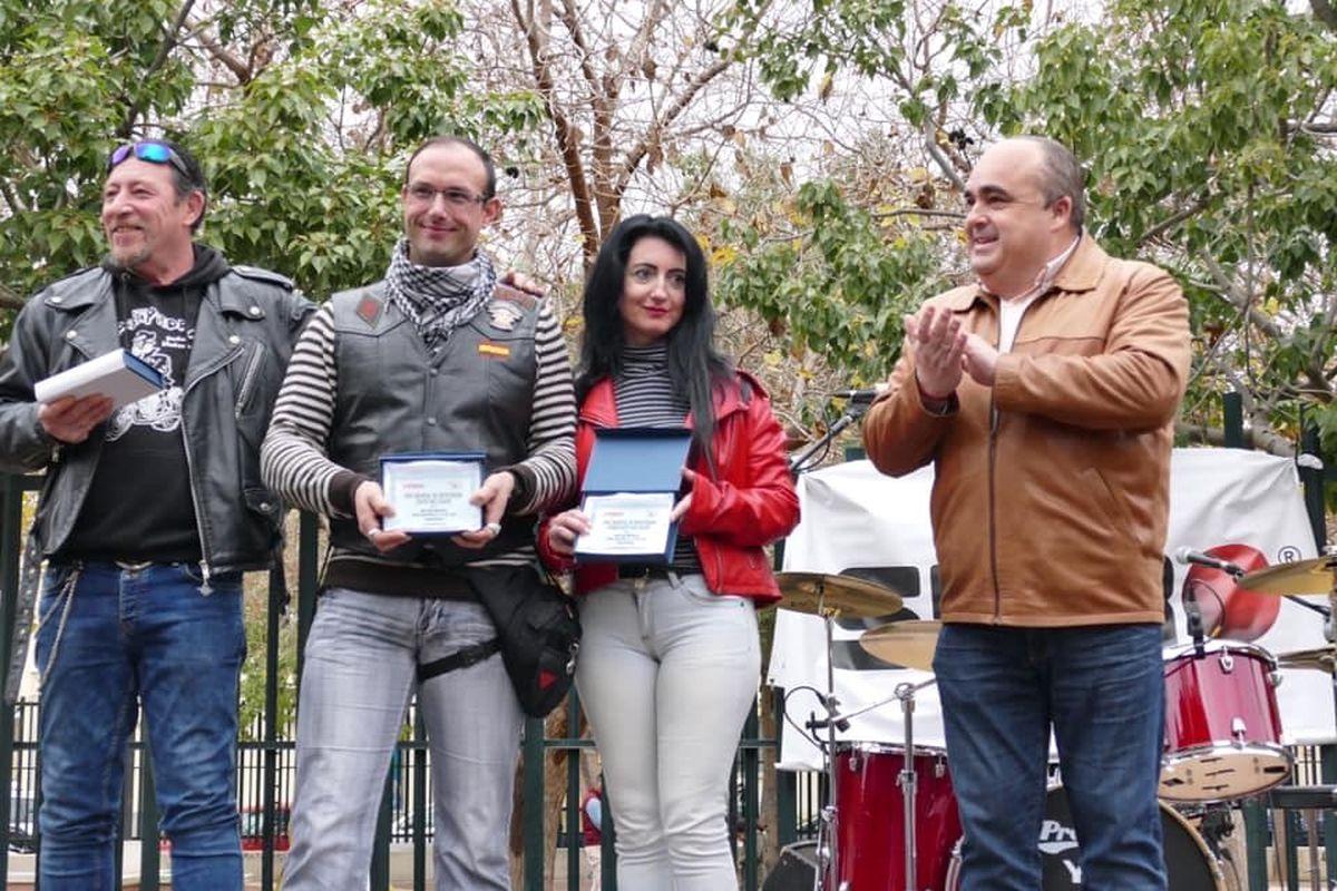 Una concentración motera puso el punto y final a las fiestas de San Antón