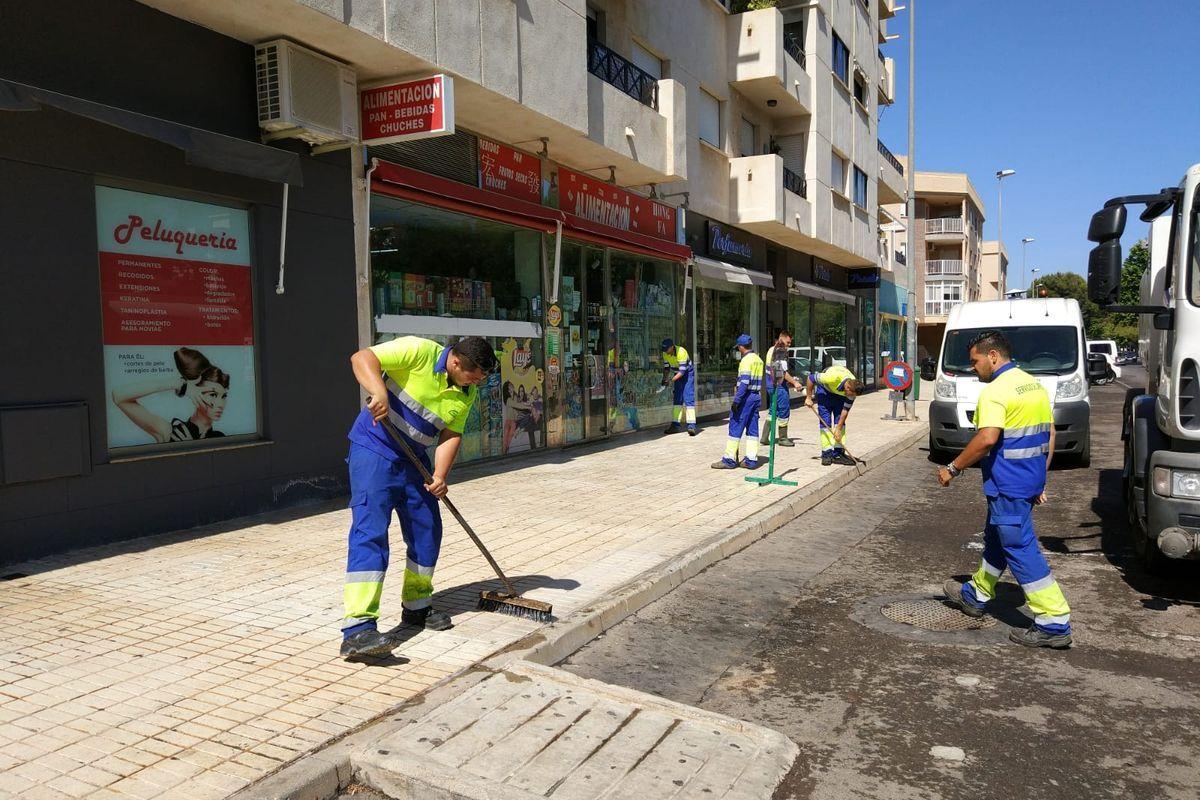 El II Plan de Choque de Limpieza llegará a más de 60 barrios y diputaciones
