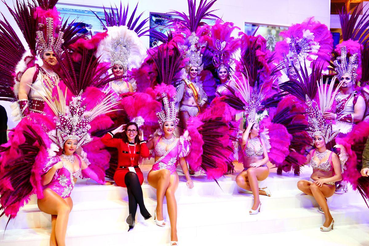 Presentación de la gala de Drag Queen del Carnaval de Cartagena en Fitur