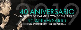 40 Aniversario del ingreso de Carmen Conde en la RAE