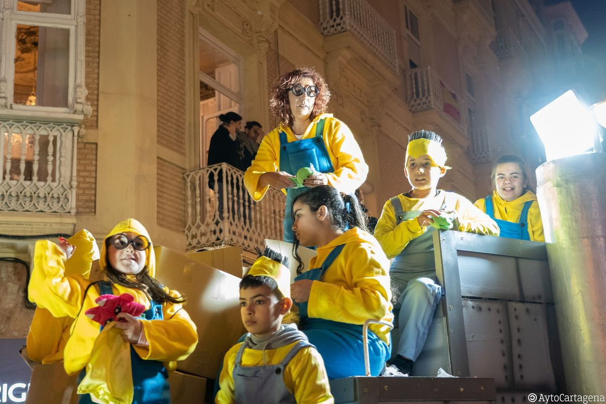 Participacion Cabalgata Municipal de Reyes 2019