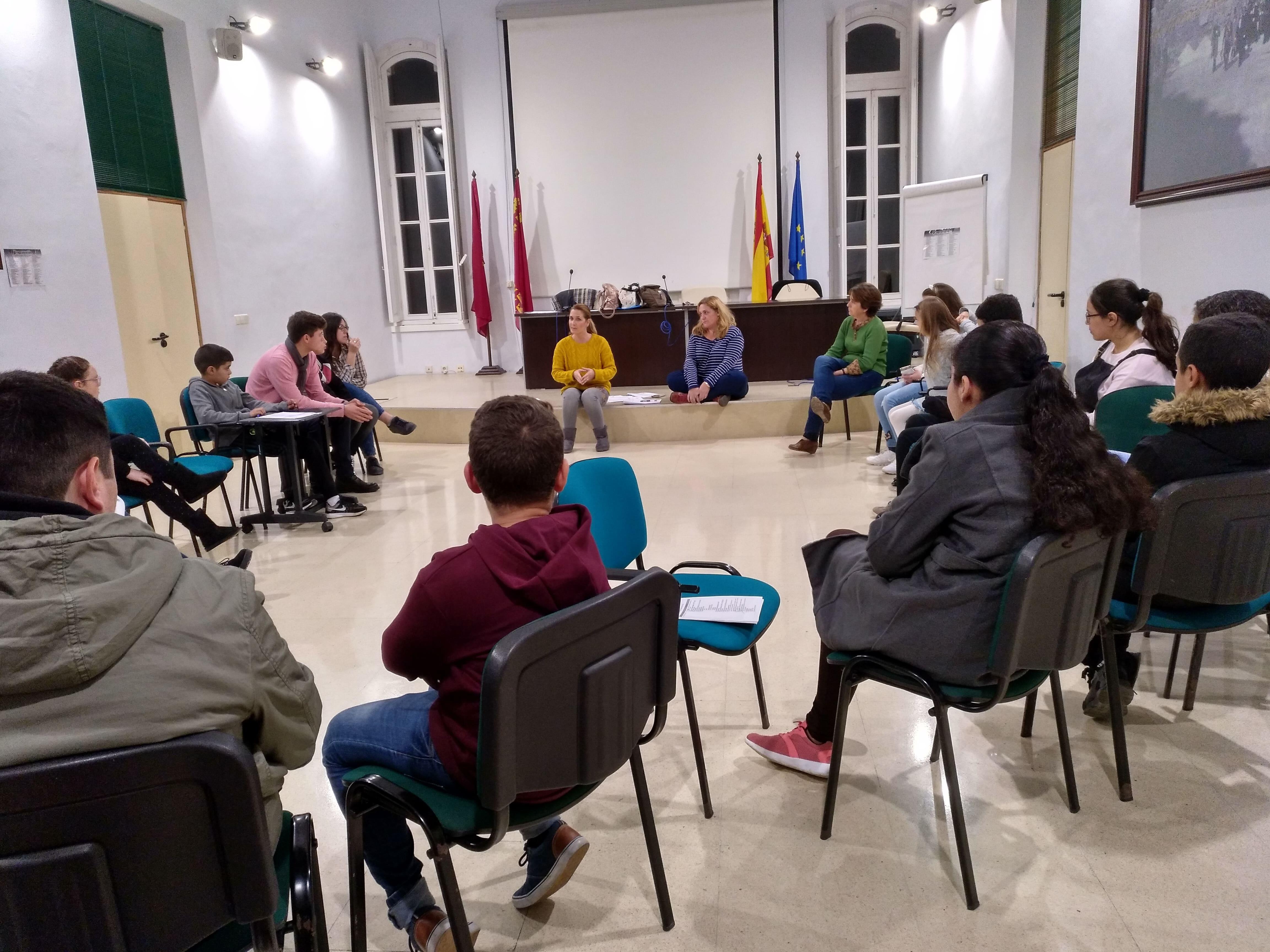 Sesión Trabajo Consejo Infancia