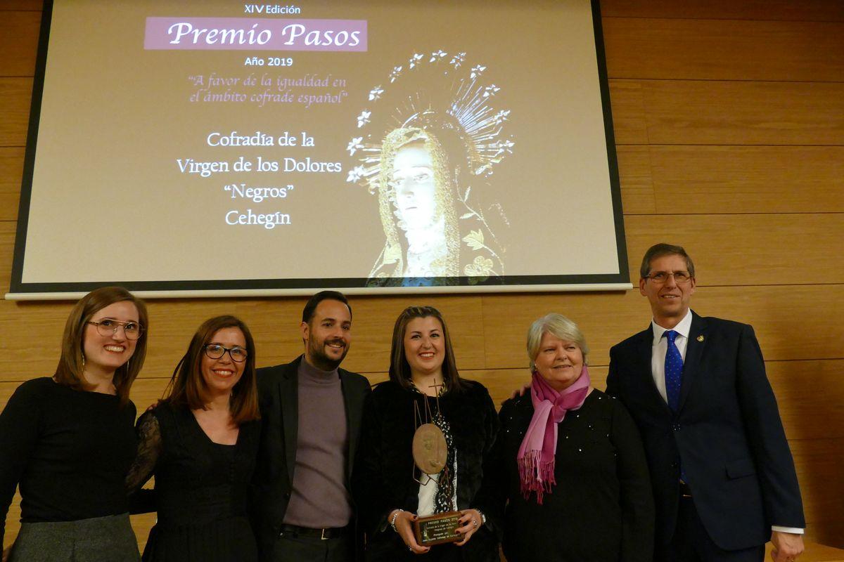 Entrega Premio Pasos 2019 a Los Negros de Cehegín