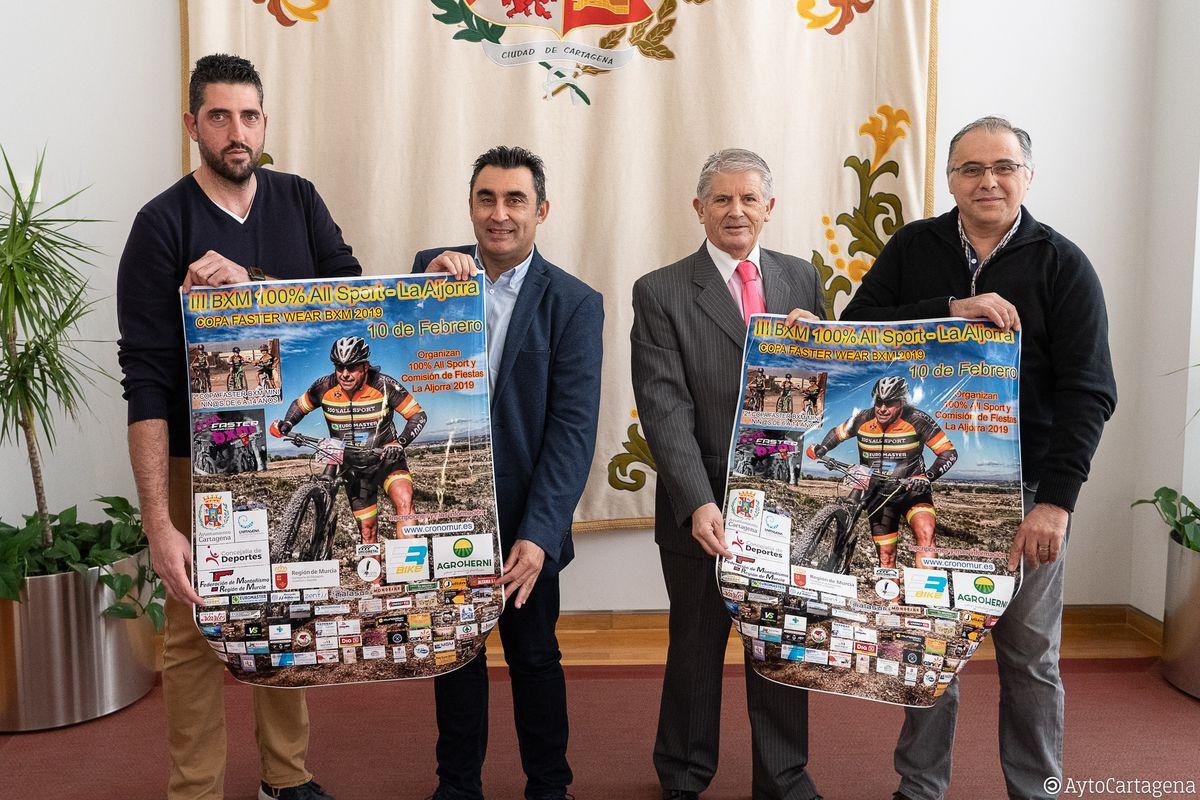 Presentación del III BXN 100% All Star de La Aljorra
