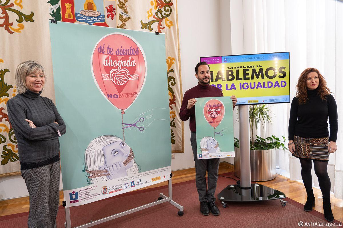 Presentación nuevo programa 'Si te sientes ahogada no es amor'