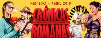 Crónicas Romanas. Programa de Actividades Cartagena Puerto de Culturas Febrero - Abril 2019