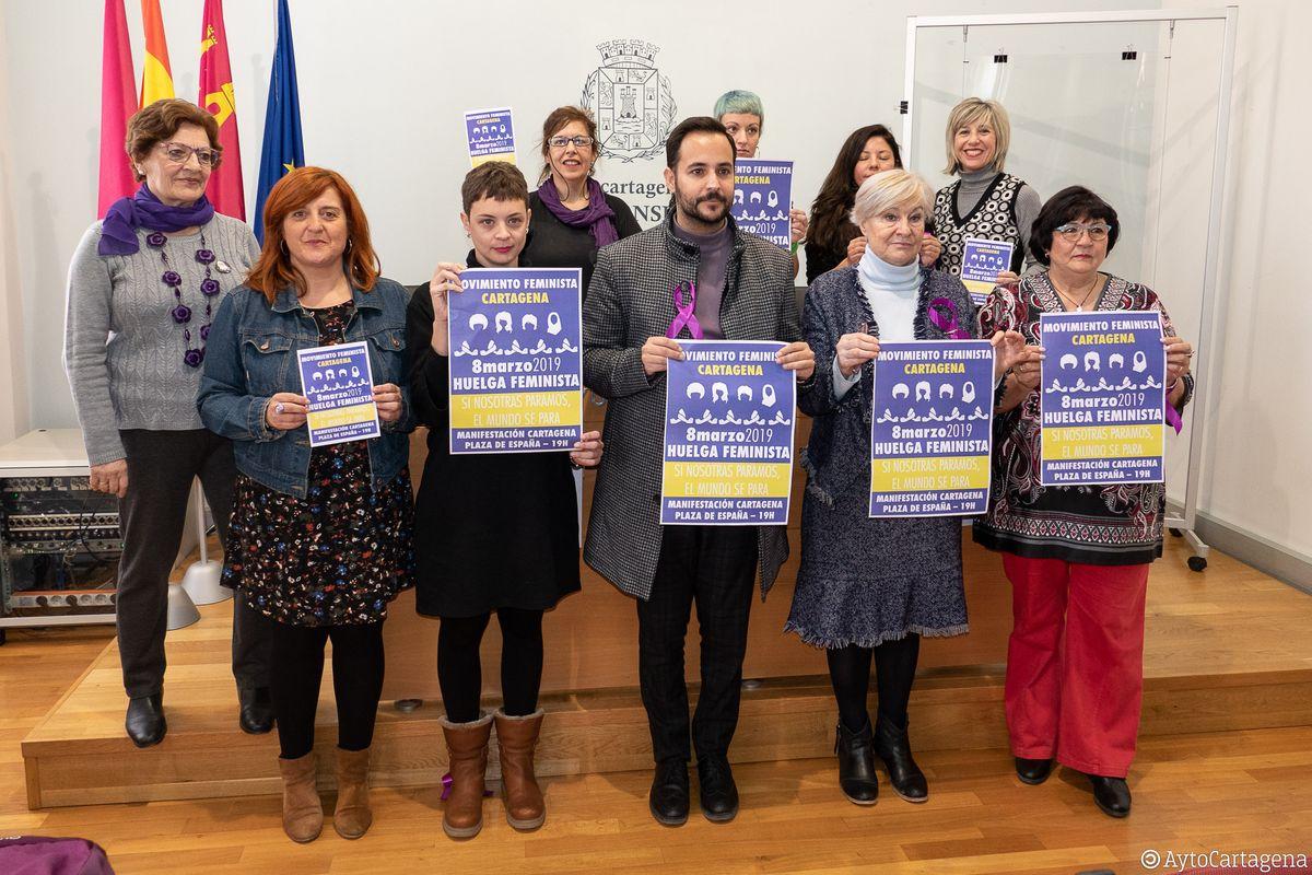 Presentación actividades del 8 de marzo, Día de la Mujer