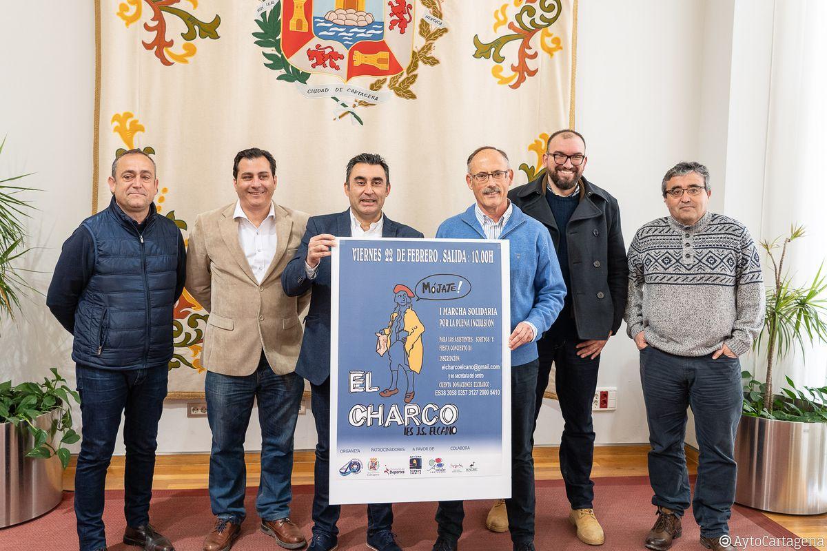 I Marcha Solidaria del IES Elcano