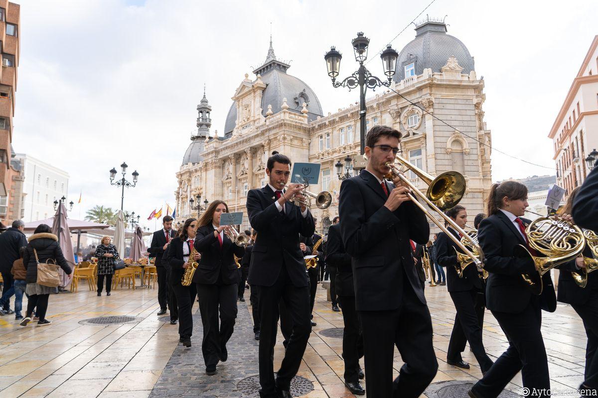Caravaca de la Cruz gana el Certamen Regional de Bandas de Música 'Ciudad de Cartagena'