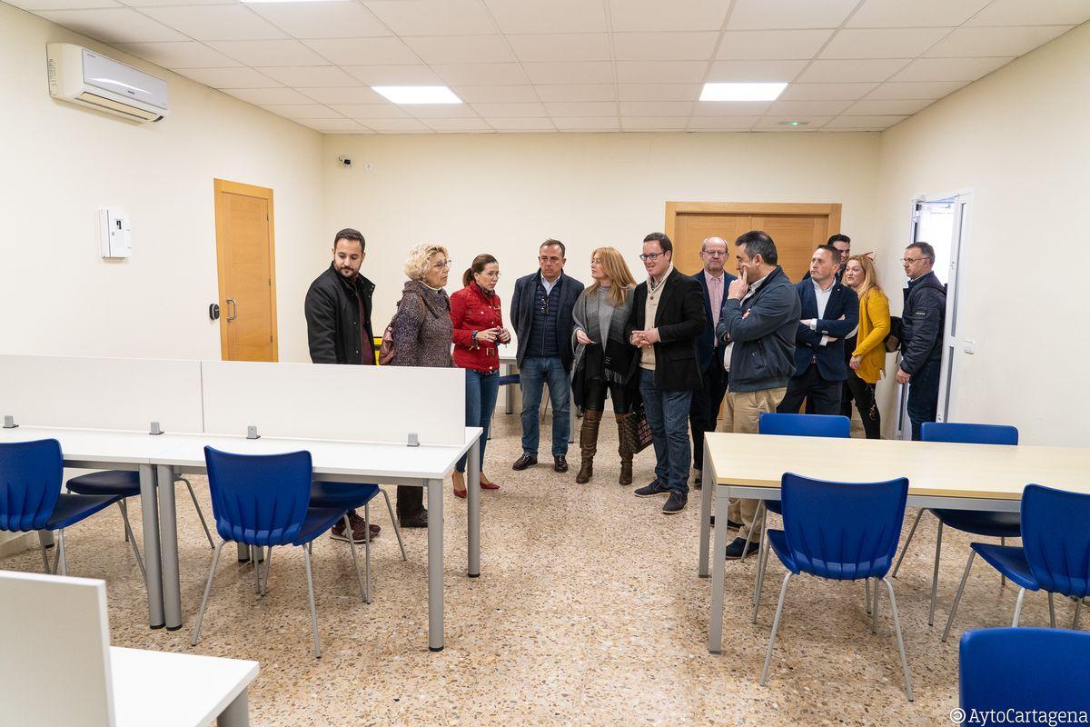 Inauguración del Aula de estudio 24 horas de El Albujón