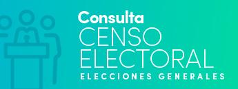 Consulta Censo Electoral Elecciones Generales