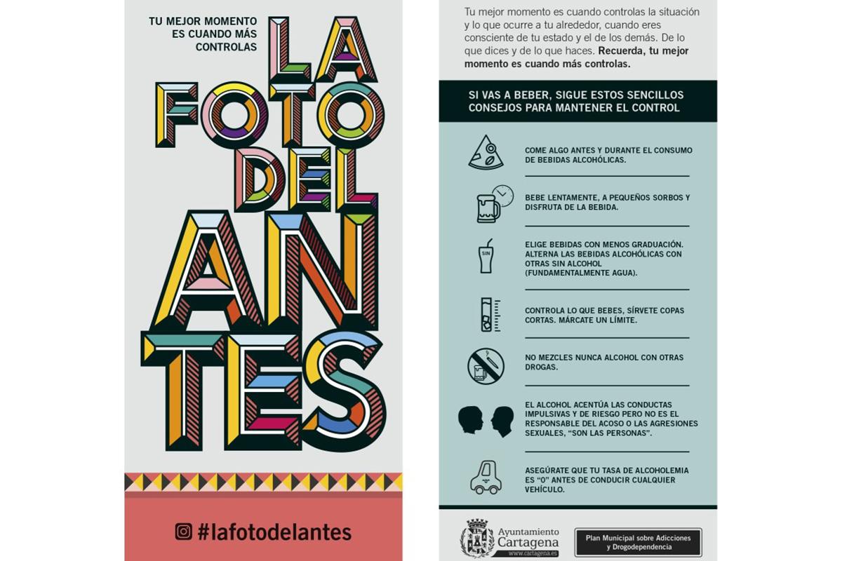 Flyer con consejos de la PMAD para las Fiestas de San José