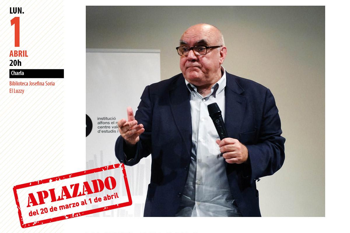 Conferencia Manuel Delgado en Cartagena Piensa