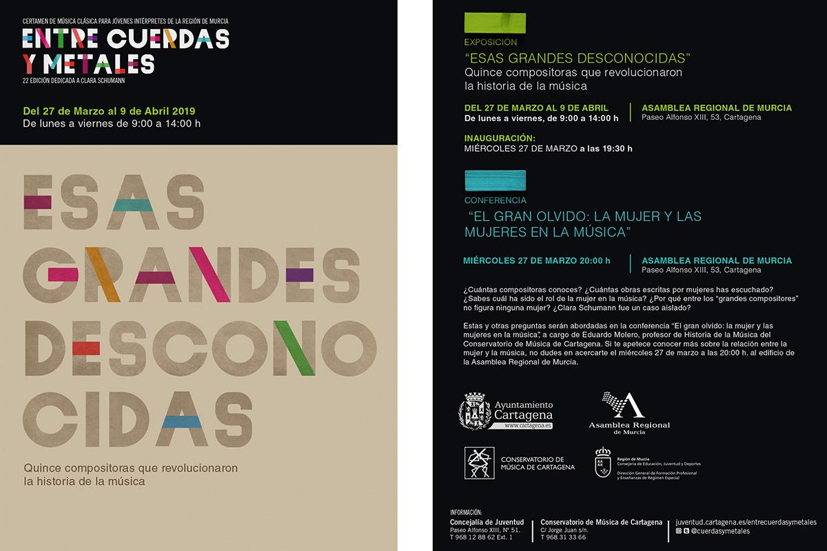 Exposición 'Esas Grandes Desconocidas' y Conferencia Eduardo Molero