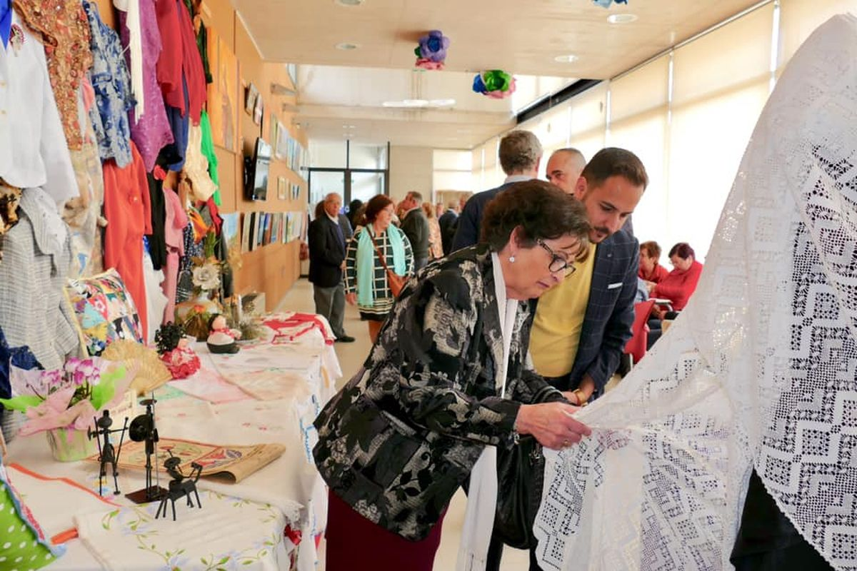 Exposición Asociación de Mujeres Santa Florentina de La Palma