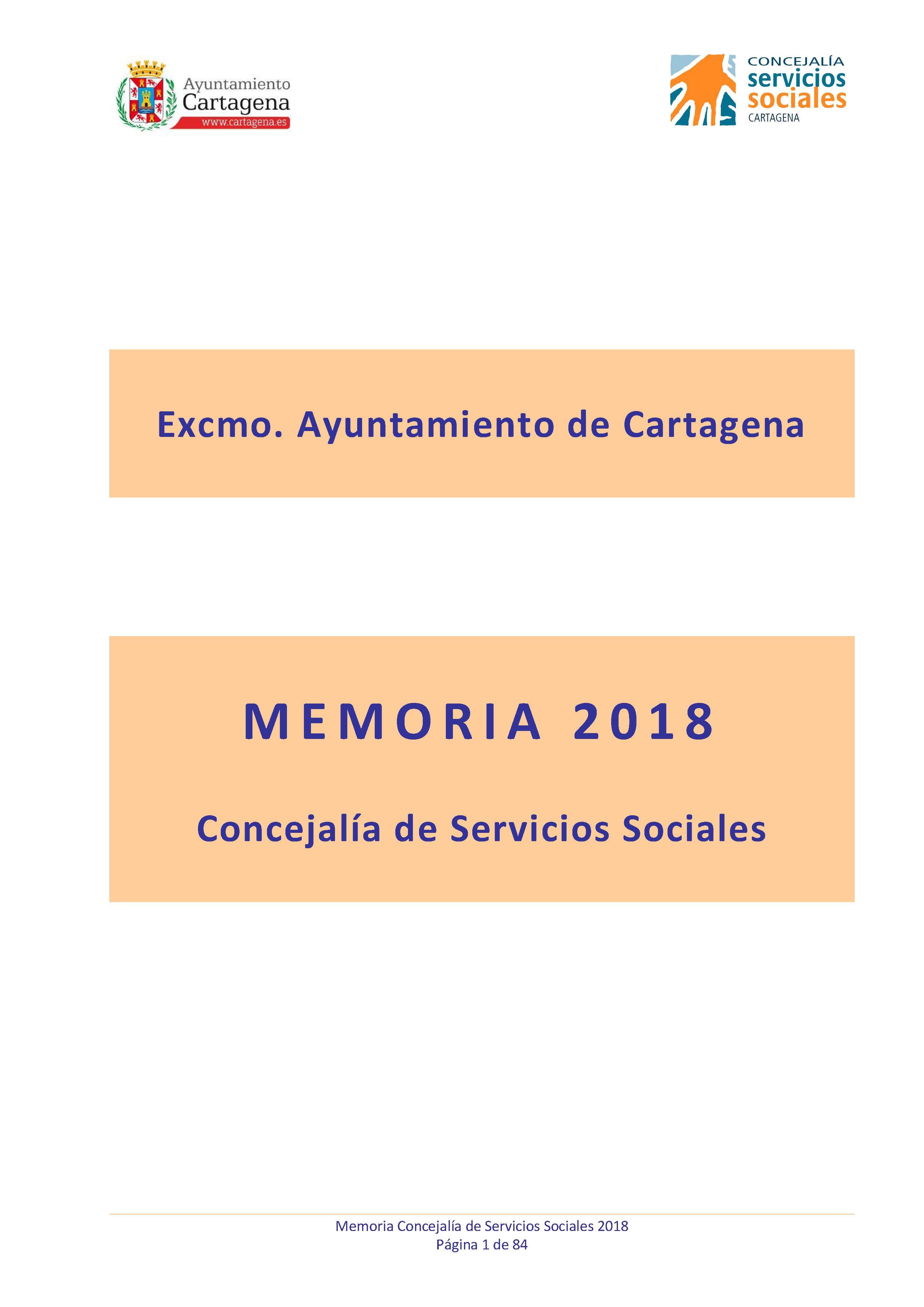 Memoria Servicios Sociales 2018. Documento PDF - 2,37 MB. Se abre en ventana nueva