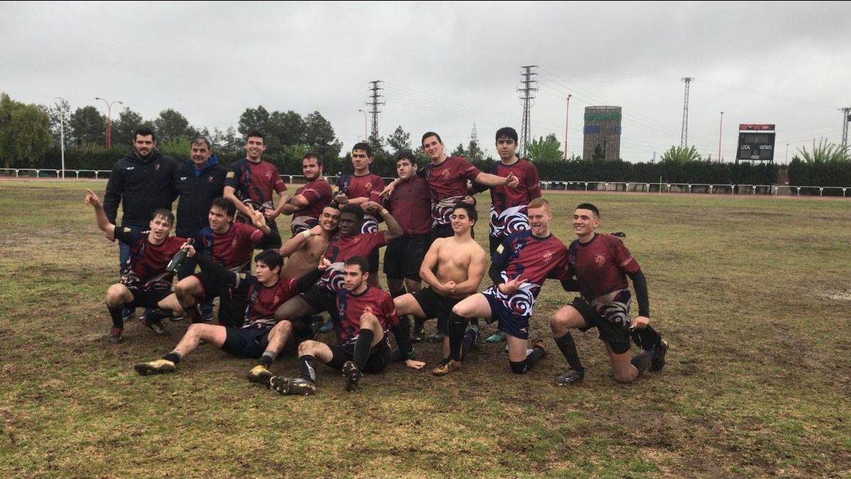 Club Rugby Universitario Cartagena Sub 18, campeones de Liga