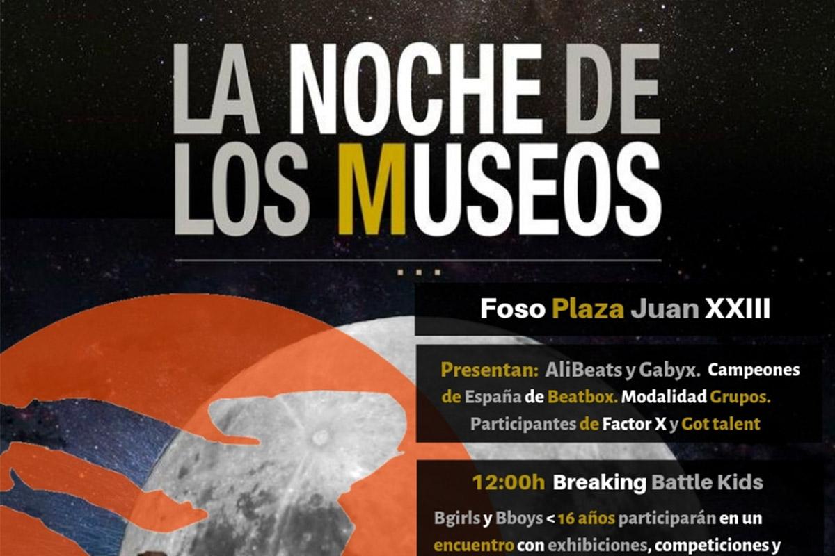 Concurso danza urbana UrbanNightCT de la XI Edición de La Noche de los Museos