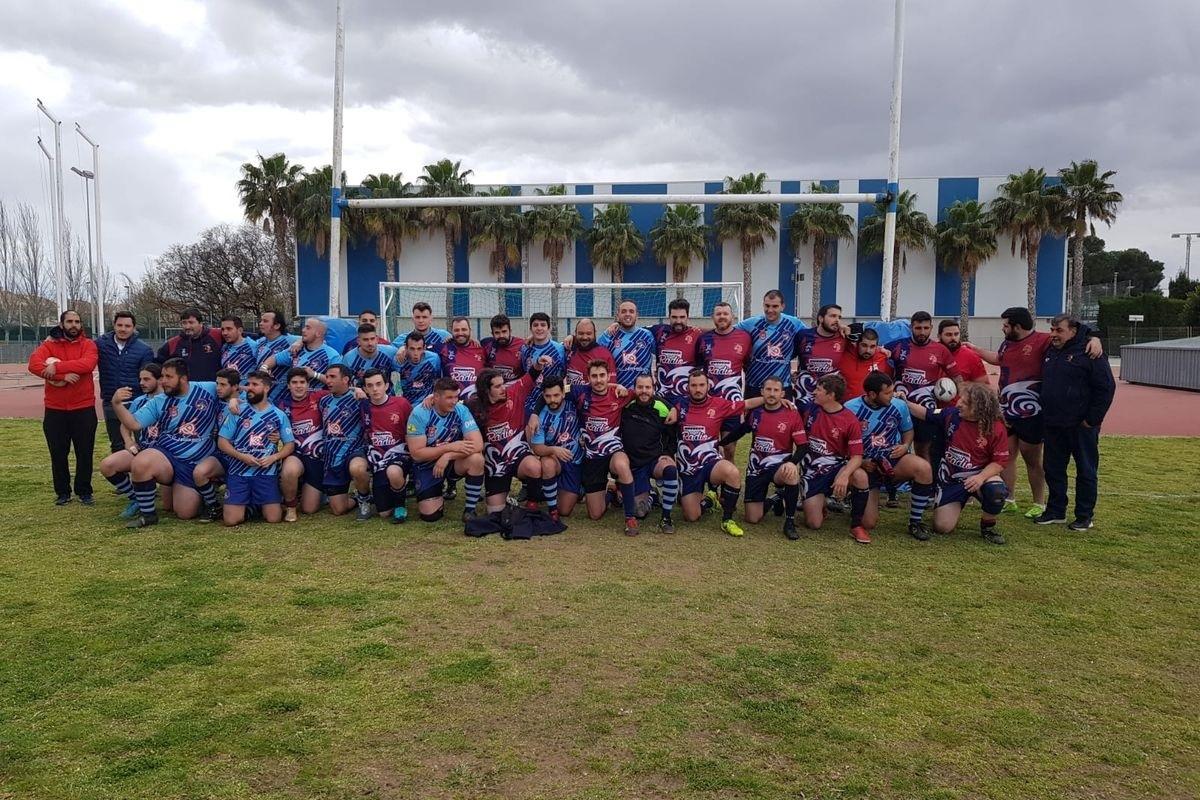 Victoria del Club de Rugby Universitario Cartagena en San Javier 6 de abril