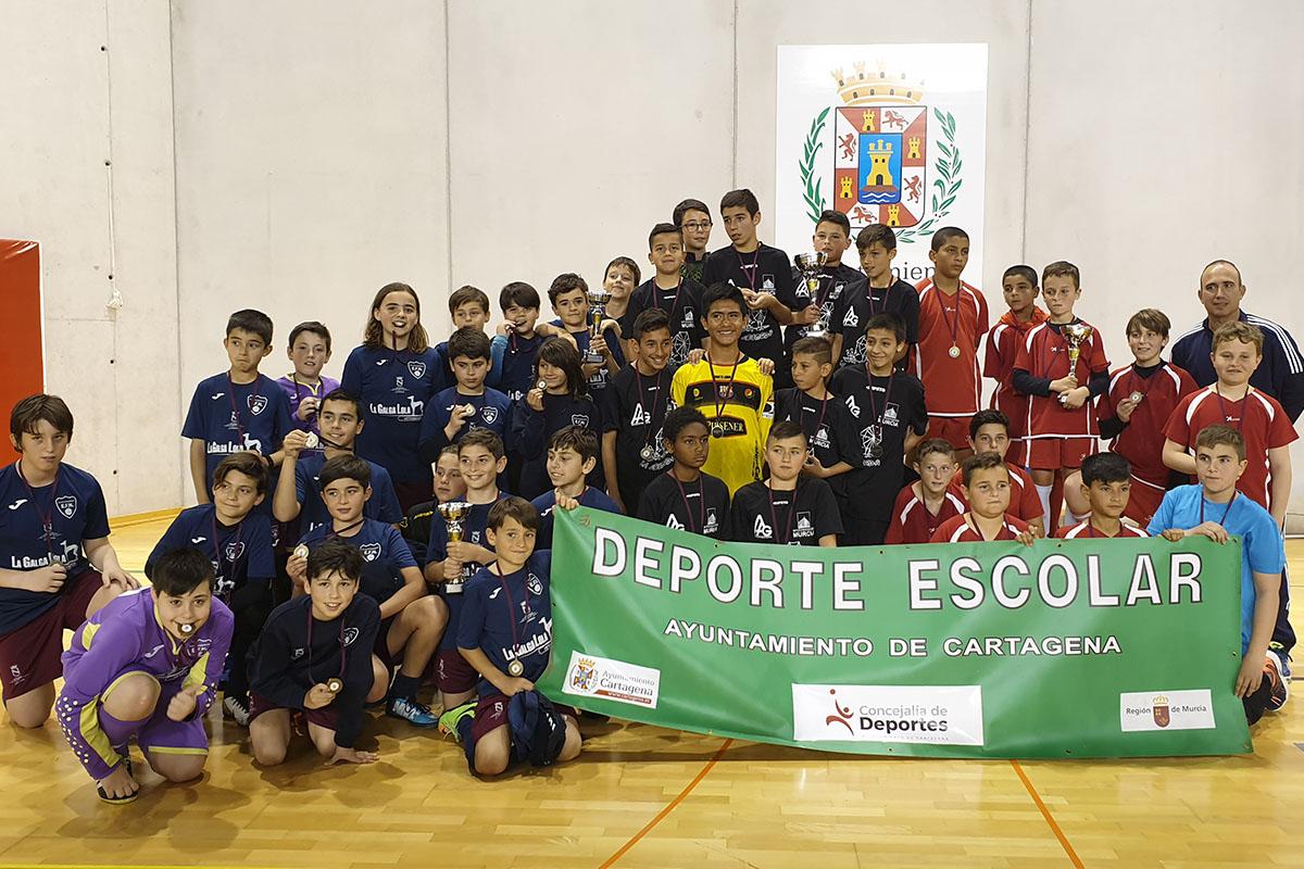 Fase Municipal de Fútbol Sala Alevín Palacio de Deportes