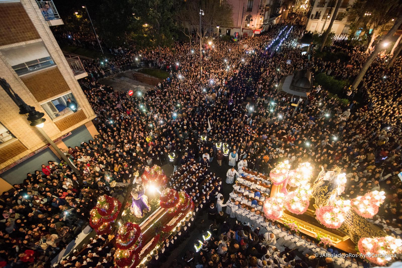 Imagen del Encuentro. Semana Santa de Cartagena