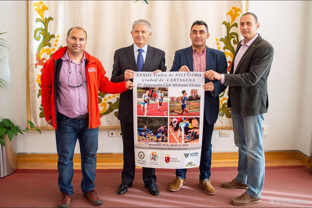 Presentación Trofeo Atletismo Ciudad de Cartagena 2019