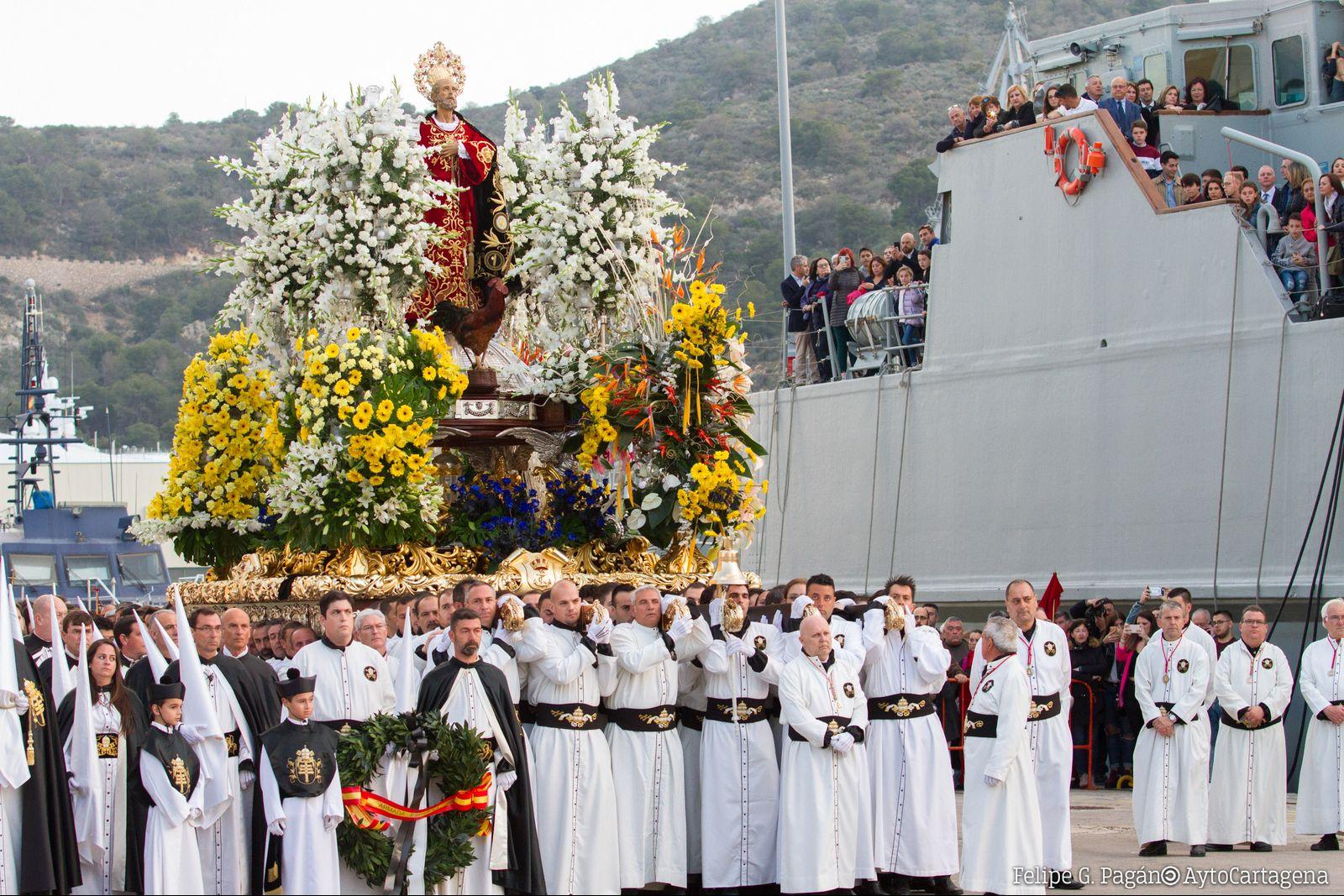 Procesión del Traslado de los Apóstoles - Martes Santo