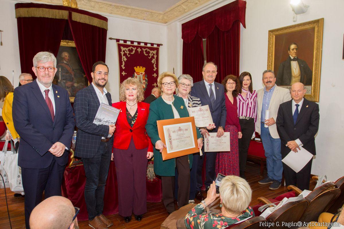 Homenaje a los Cartageneros Ausentes en la Real Sociedad Económica de Amigos del País