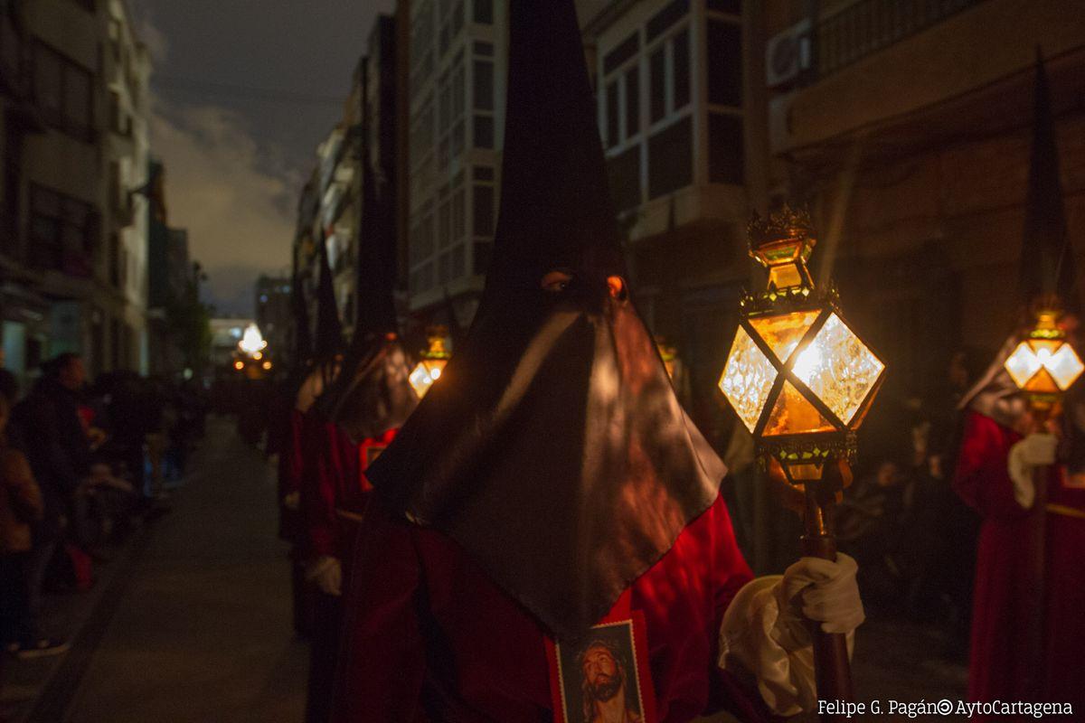 Procesión california del Silencio en Cartagena