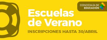 Escuelas de Verano. Inscripciones 2019
