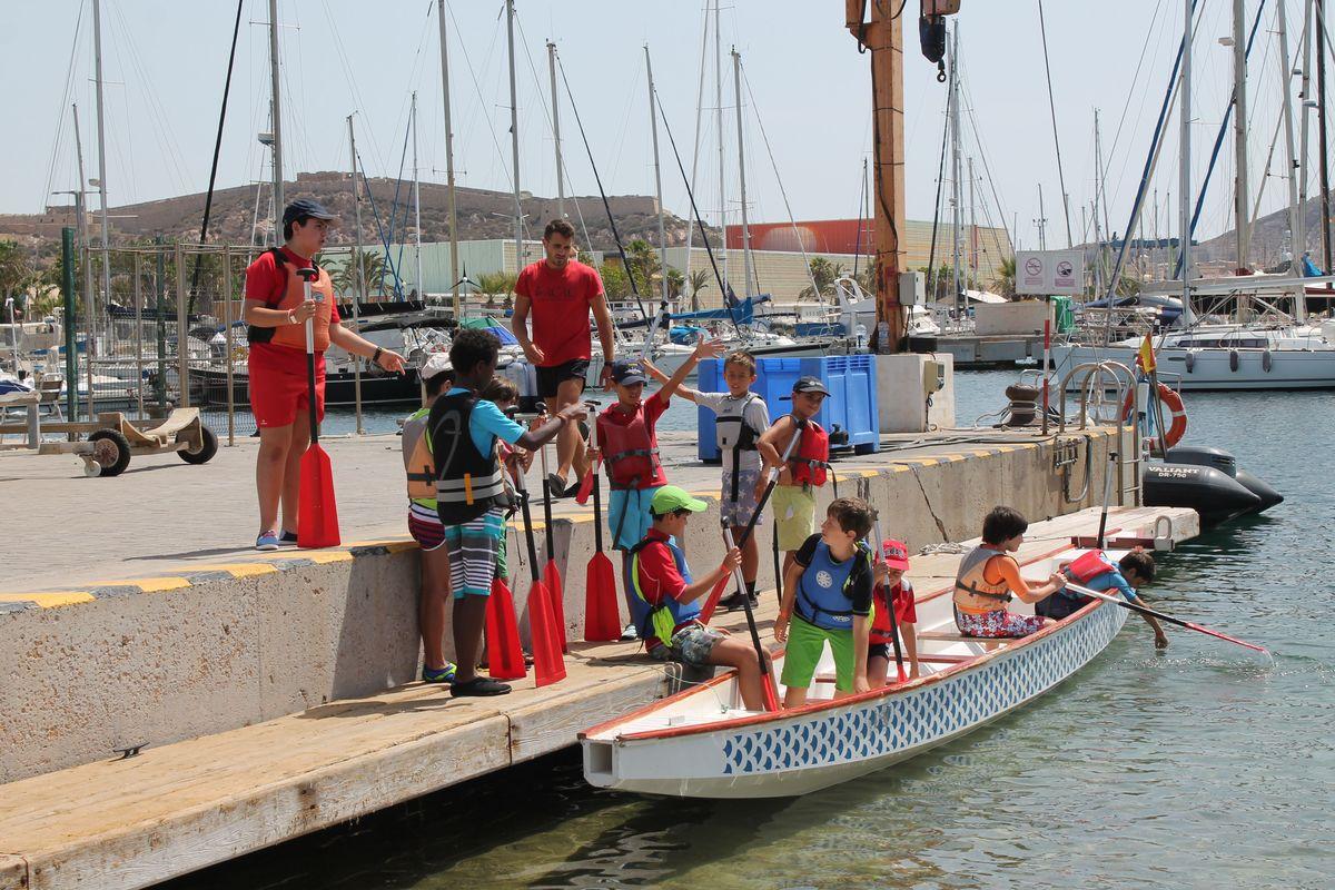 Imagen de archivo de los Talleres del Mar en las Escuelas de Verano