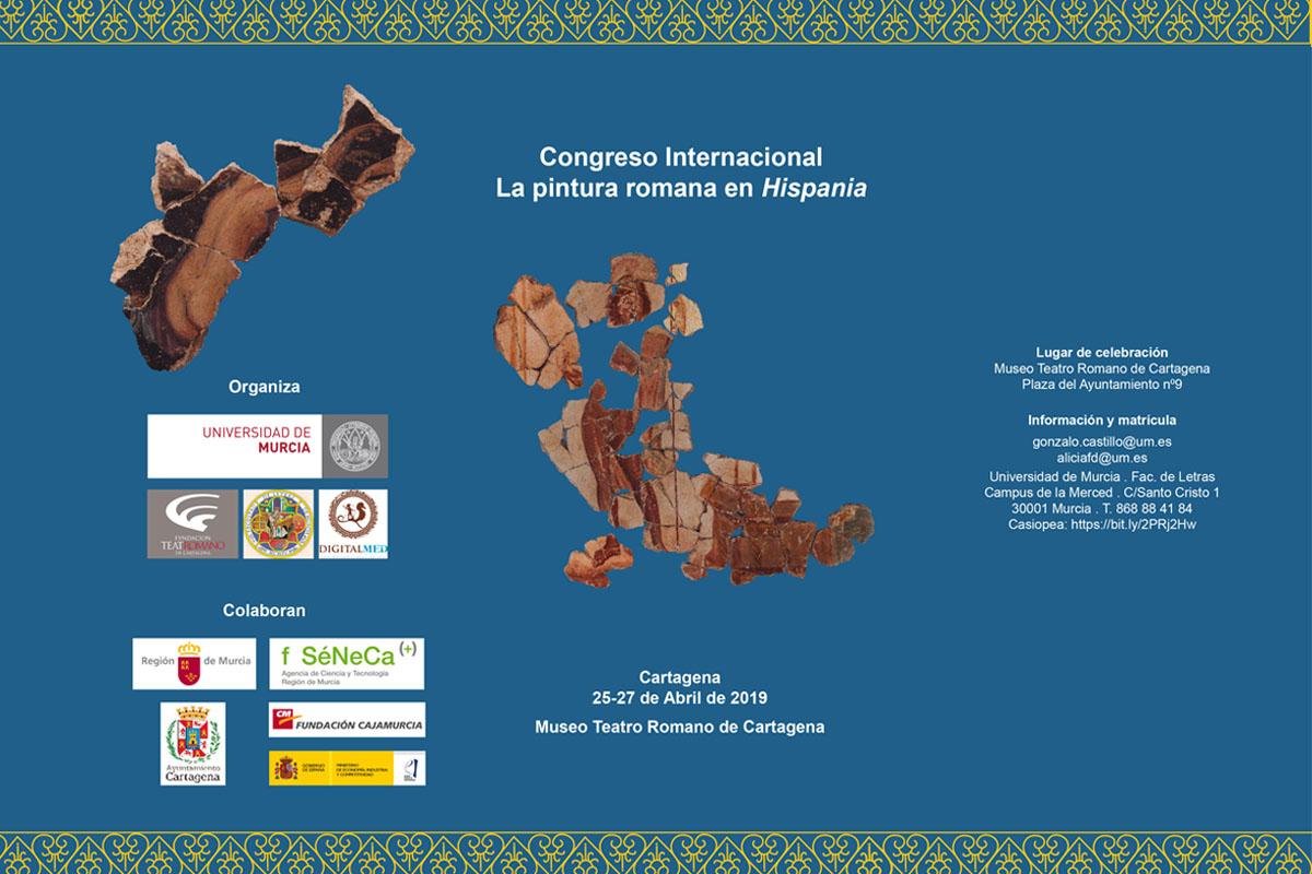 Congreso 'La Pintura Romana en Hispania' en el Museo Teatro Romano de Cartagena