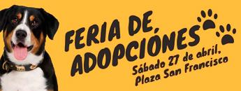 Feria de Adopciones. Sábado 27 de abril de 2019