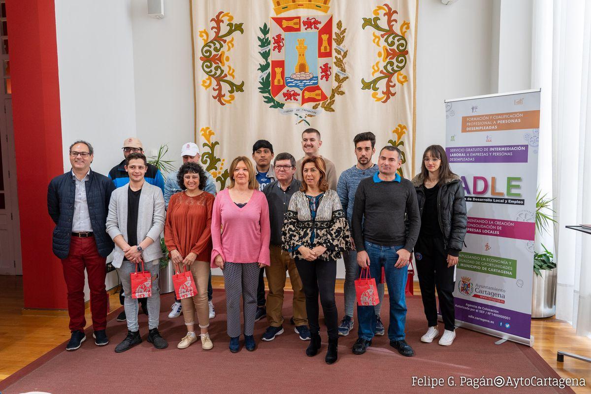 Despedida alumnos Erasmus+ ADLE