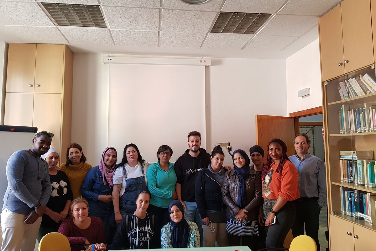 Visita alumnos ALRASO ADLE