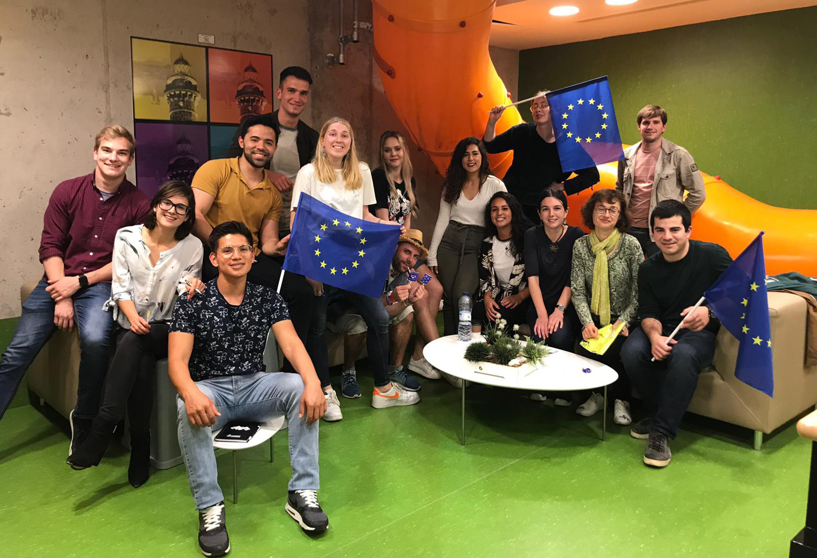 Día de Europa. Concejalía de Juventud