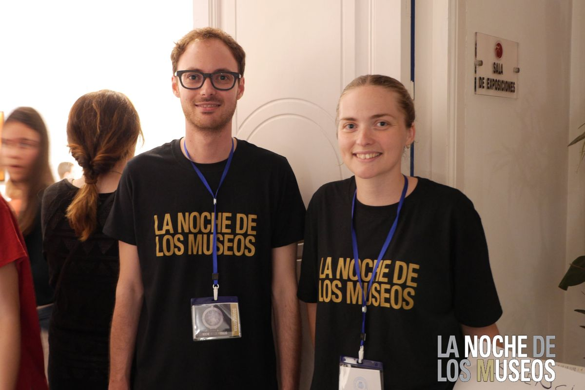 Voluntarios de la Noche de los Museos