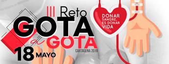 III Reto Gota a Gota. Campaña de Donación de Sangre