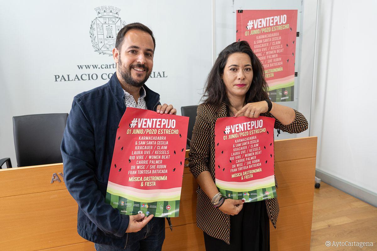Presentación festival #Ventepijo