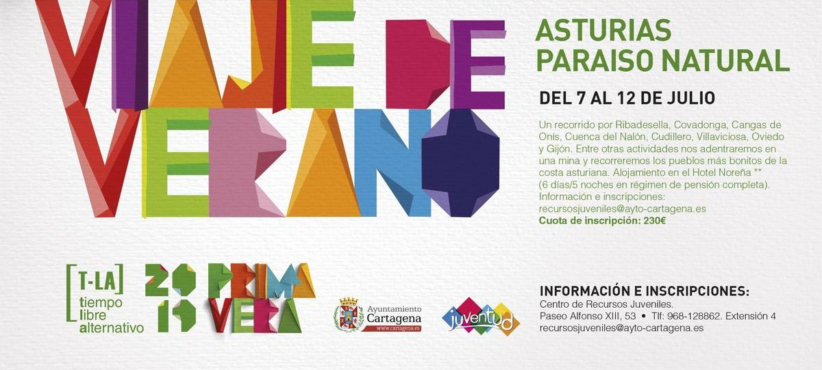 Viaje Asturias Programa Tiempo Libre Alternativo Juventud