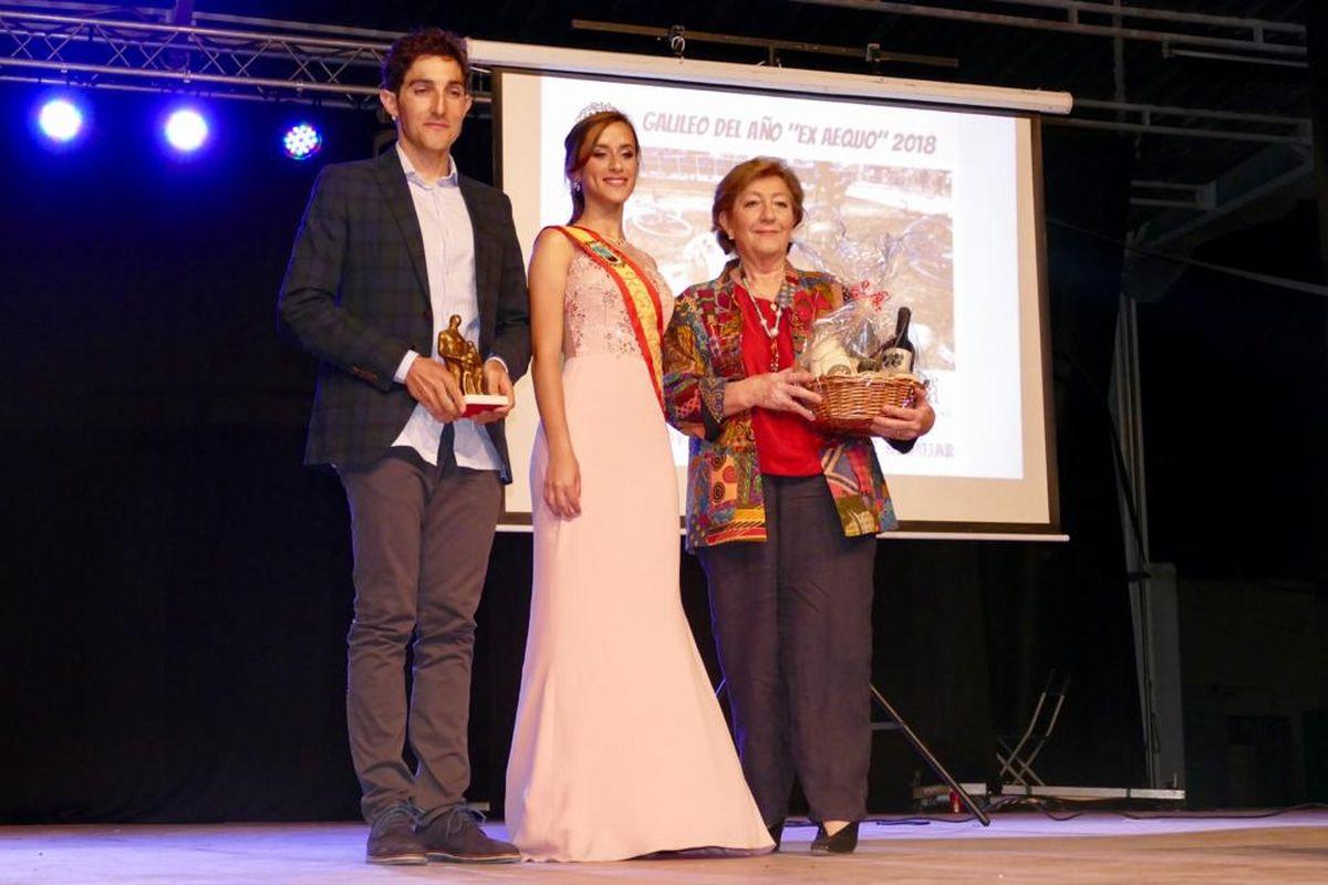 Antonia Domenech y Andrés Mesa, Galileos del Año junto a Ángel Conesa, premio Arado de Oro en Pozo Estrecho