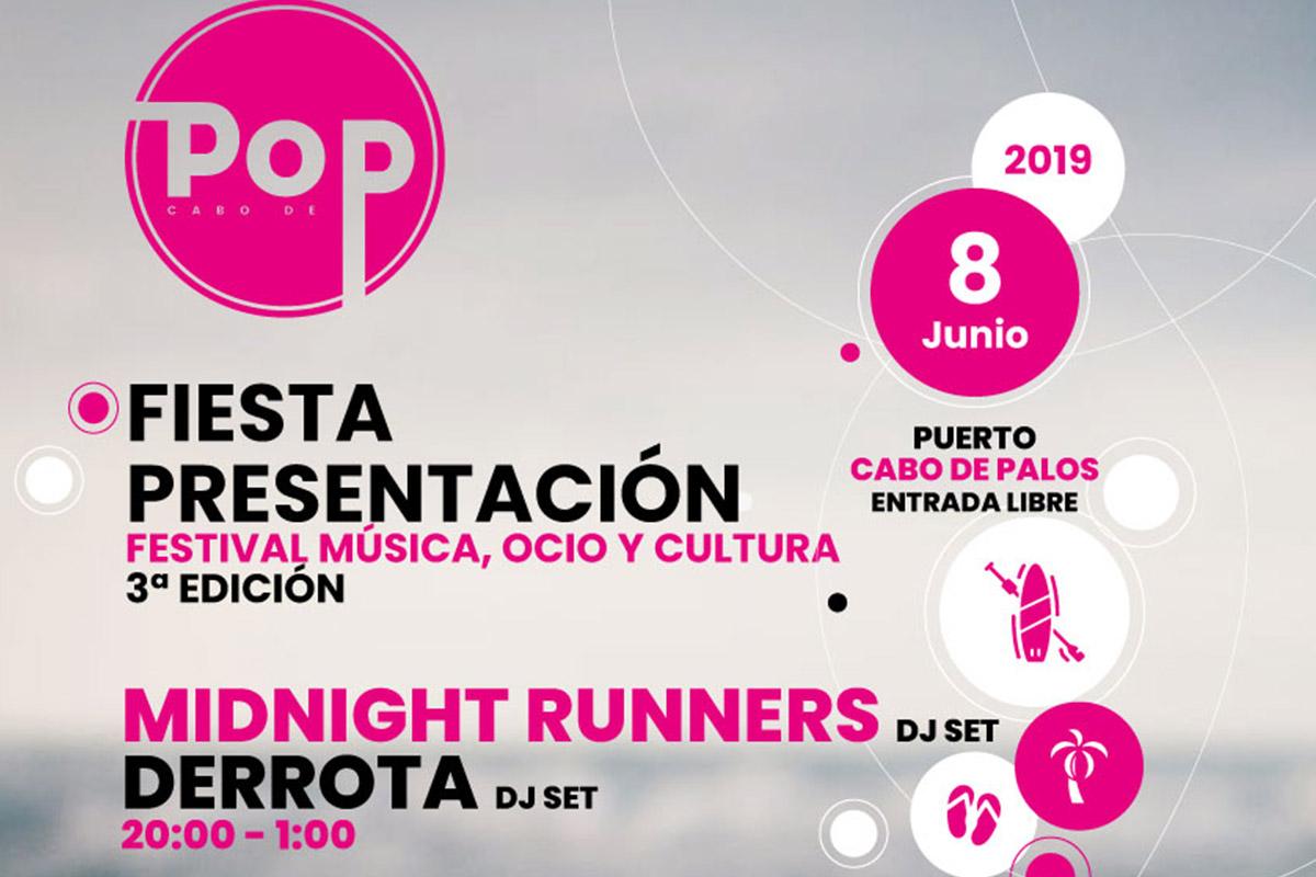 Fiesta de presentación Cabo Pop