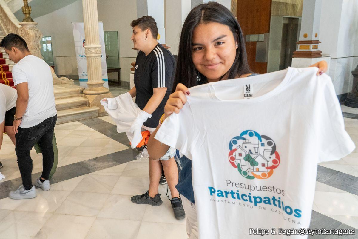 Visitas de los centros educativos de los Presupuestos Participativos IES El Bohío y Galileo