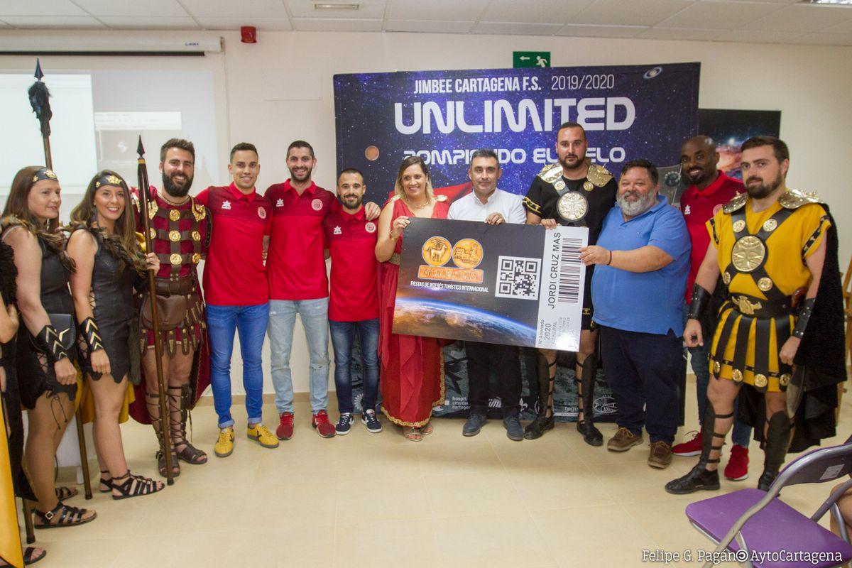 Presentación Campaña de Abonos Jimbee Futbol Sala Cartagena